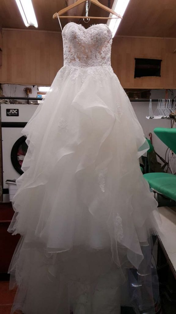 Wedding Dress Cleaning scaled