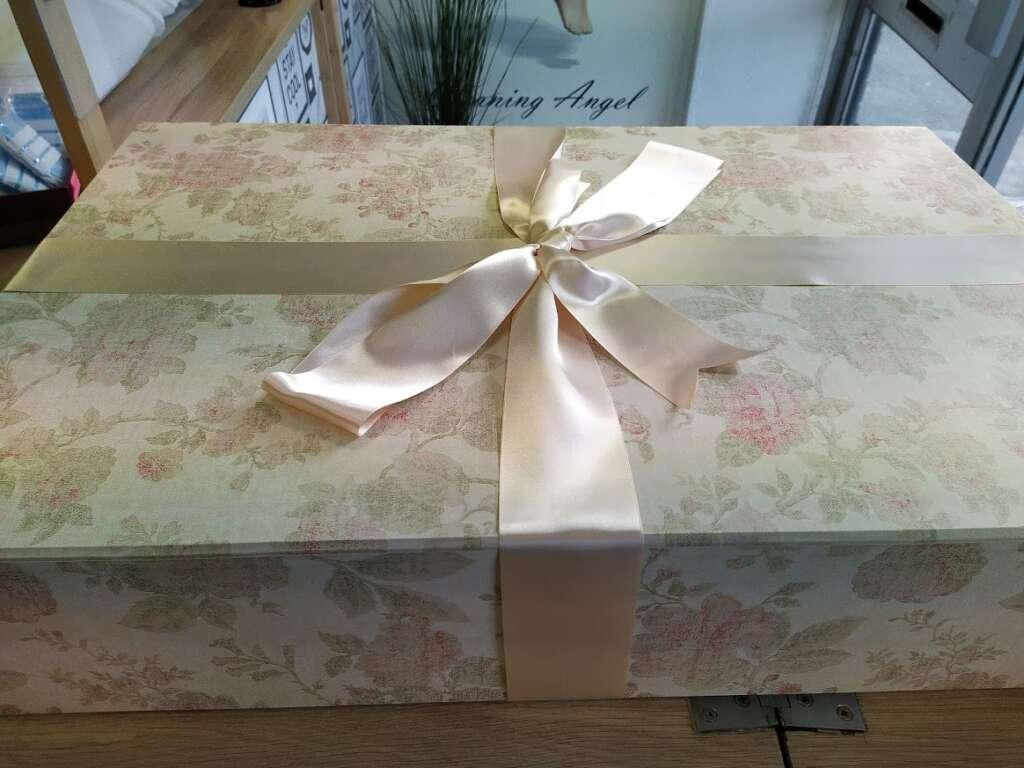 Beautiful Bespoke Wedding Dress Box